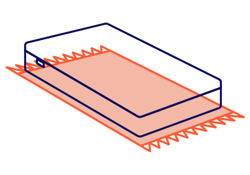 colchão no chão